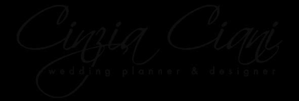 Logo Cinzia Ciani - Wedding Planner & Designer